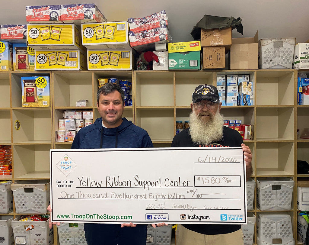 Yellow Ribbon Support Center Donation