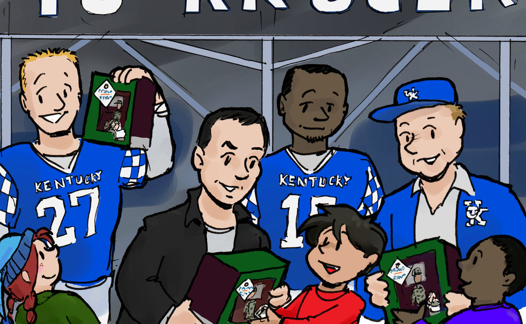 Kentucky Football Giveaway Video
