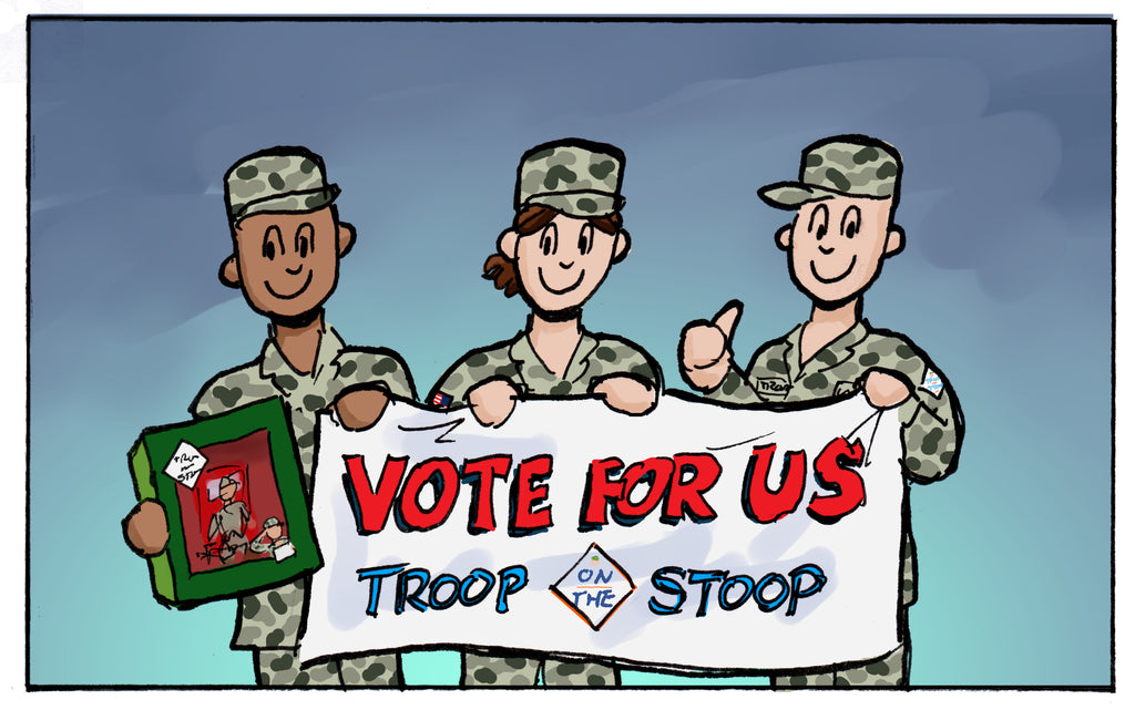 Vote Troop For 2019 FedEx Small Business Grant!