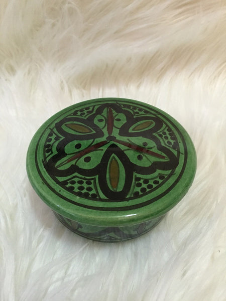 """Ghourfa"" Safi Design Green Sugar Bowl"