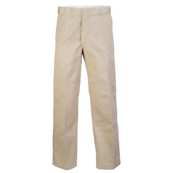 Loose Fit Work Pants Double Knee (Khaki)