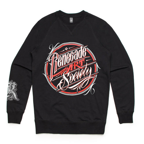 Classic Badge Crewneck (Black)
