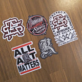 Renegade Arcade Sticker Pack