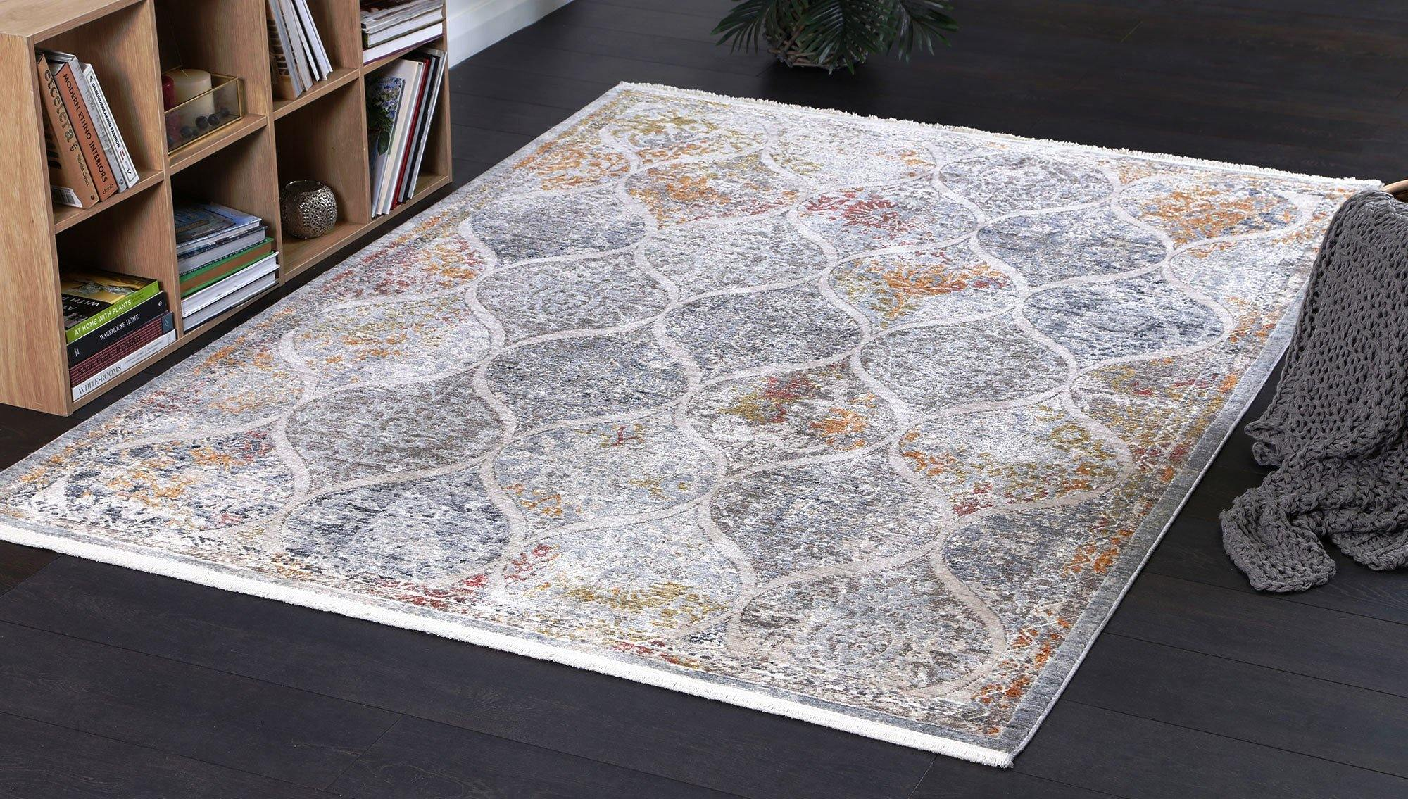 Mirage Vintage Lantern Multi Rug - The Rugs