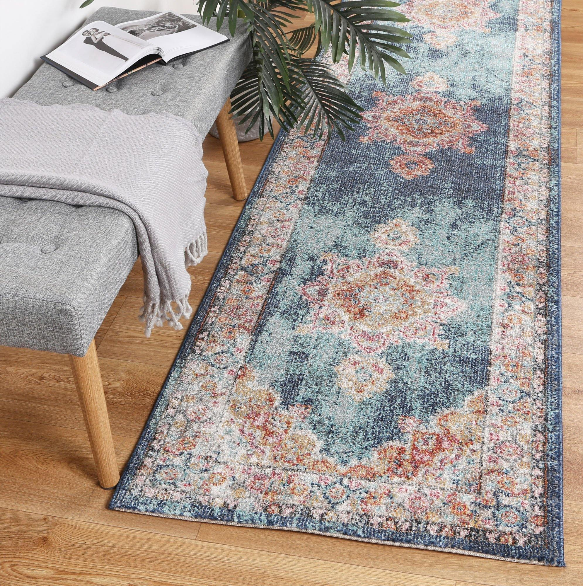 Clara Brentwood Transitional Navy Rug - The Rugs