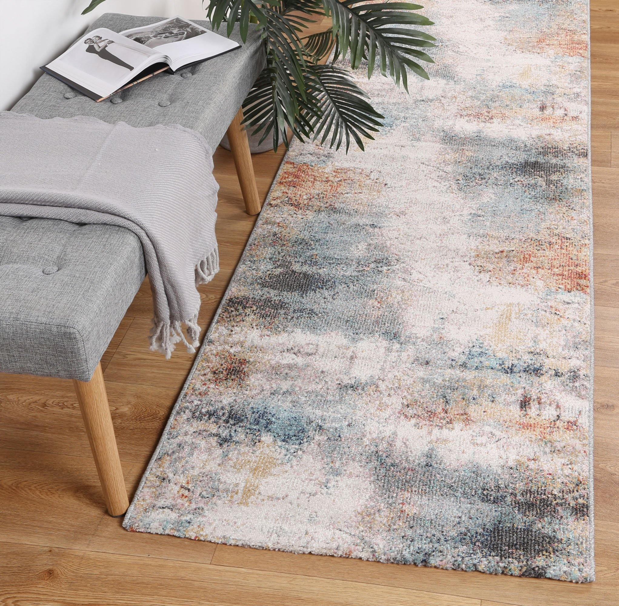 Clara Aveza Abstract Soft Multi Rug - The Rugs