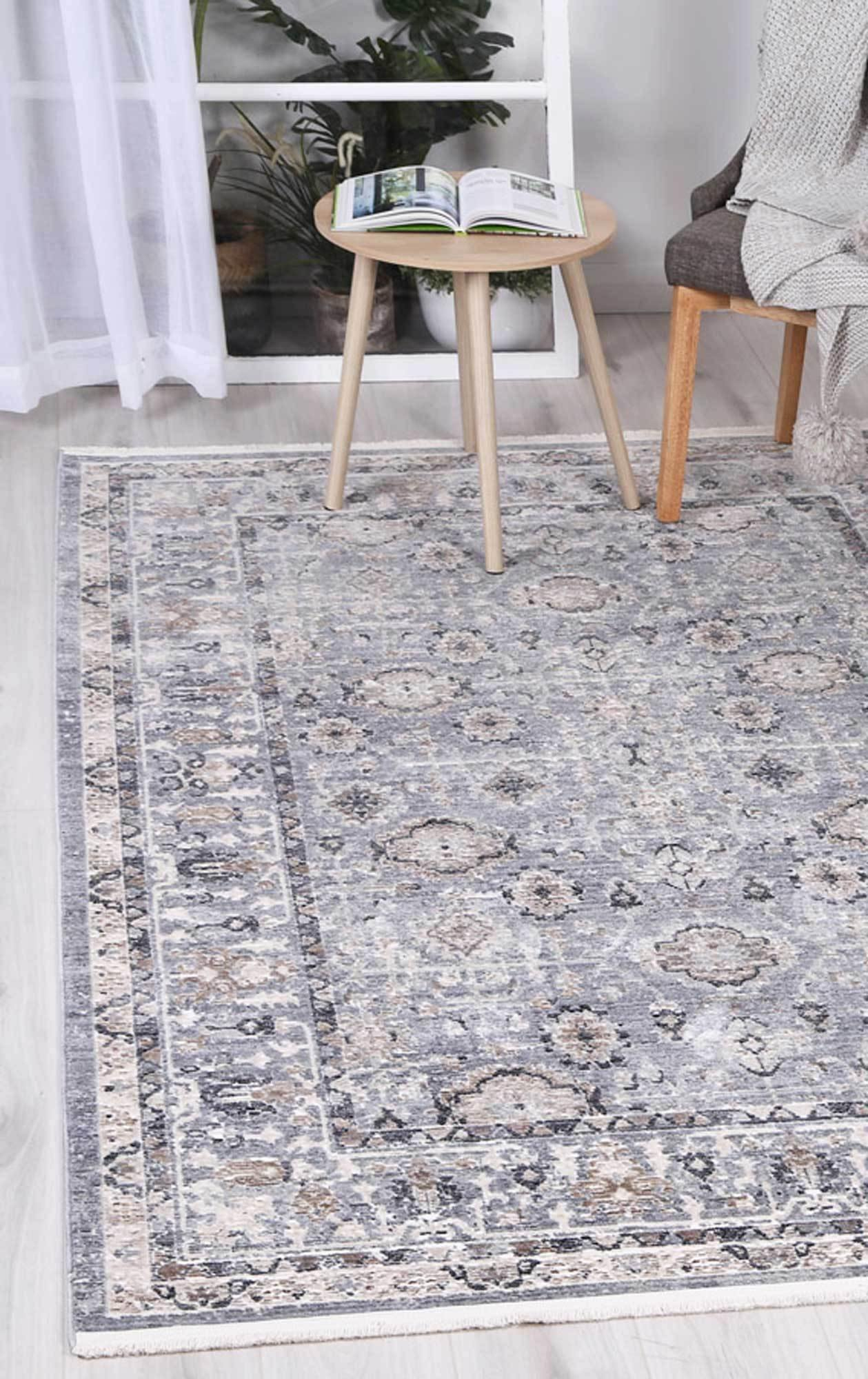 Mirage Vintage Classic Aynur Blue Rug - The Rugs
