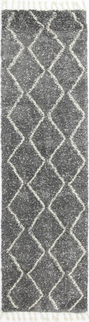 Marrakesh Levi Fleck Tribal Grey Moroccan Rug