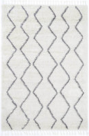 Marrakesh Levi Tribal Cream Moroccan Rug