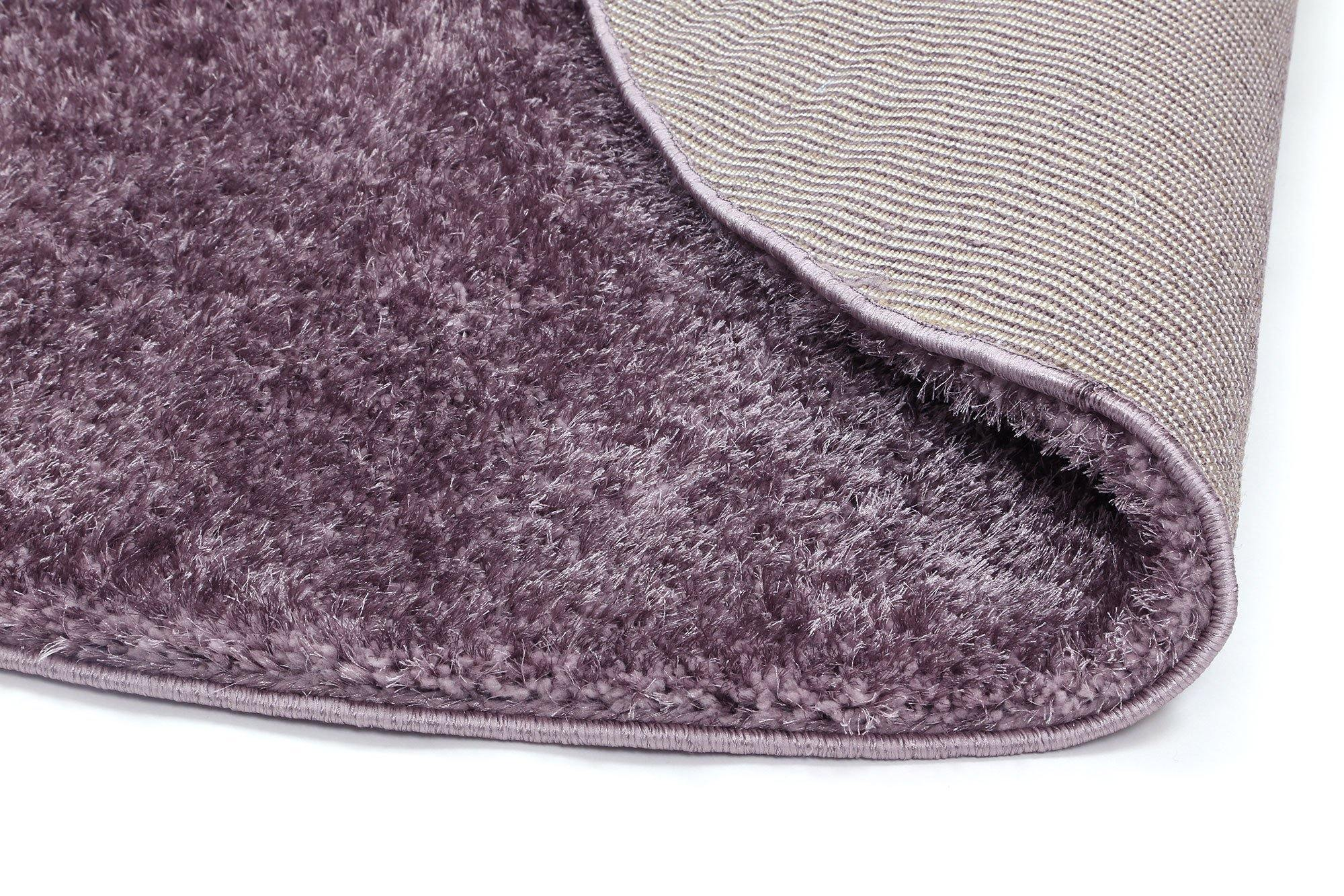 Oasis Soft Shag Lilac Rug - The Rugs