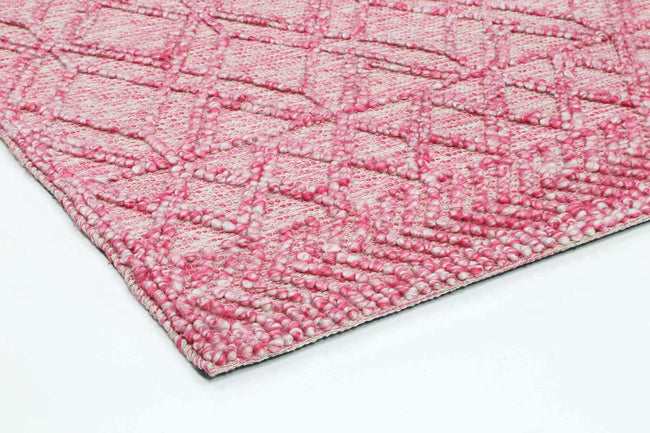 Braided Amara Transitional Abstract Rug Blush Amara  6 Blush
