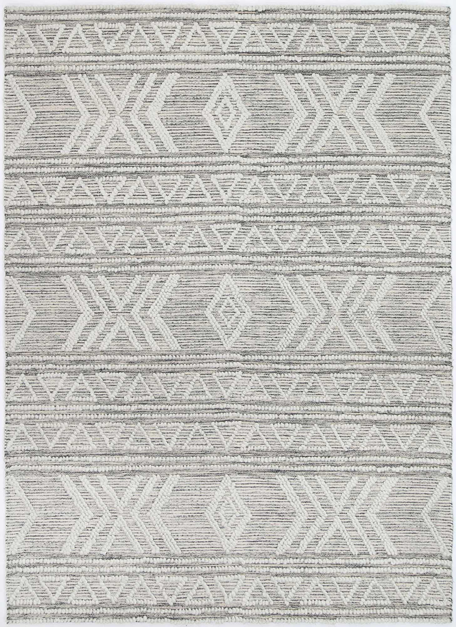 Braided Amara Transitional Abstract Rug Ivory - The Rugs