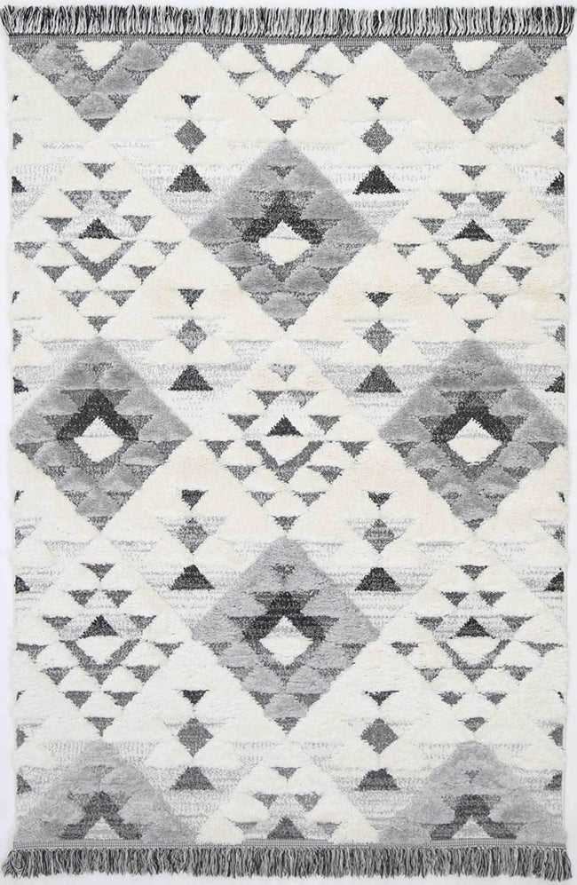 Eternity Mono Tribal Diamond Cream Grey