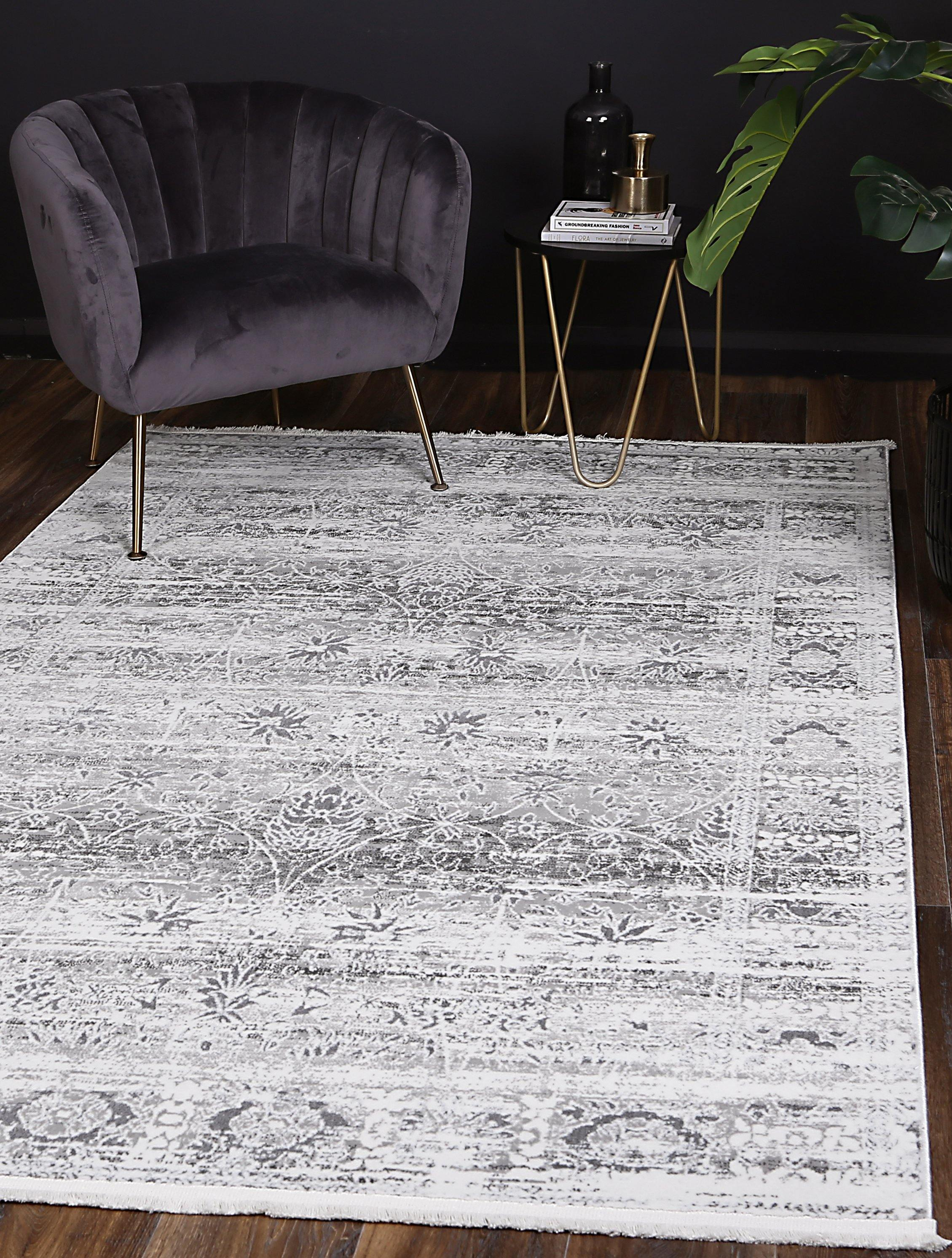 Cascade Classic Grey Rug - The Rugs