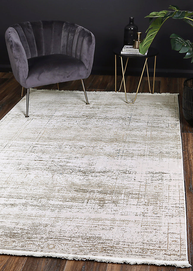 Cascade Traditional Grey Blue Rug