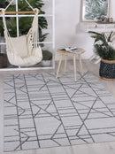 Cabana Copenhagen Indoor/Outdoor Grey Rug