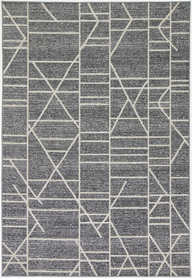 Cabana Copenhagen Indoor/Outdoor Charcoal Rug