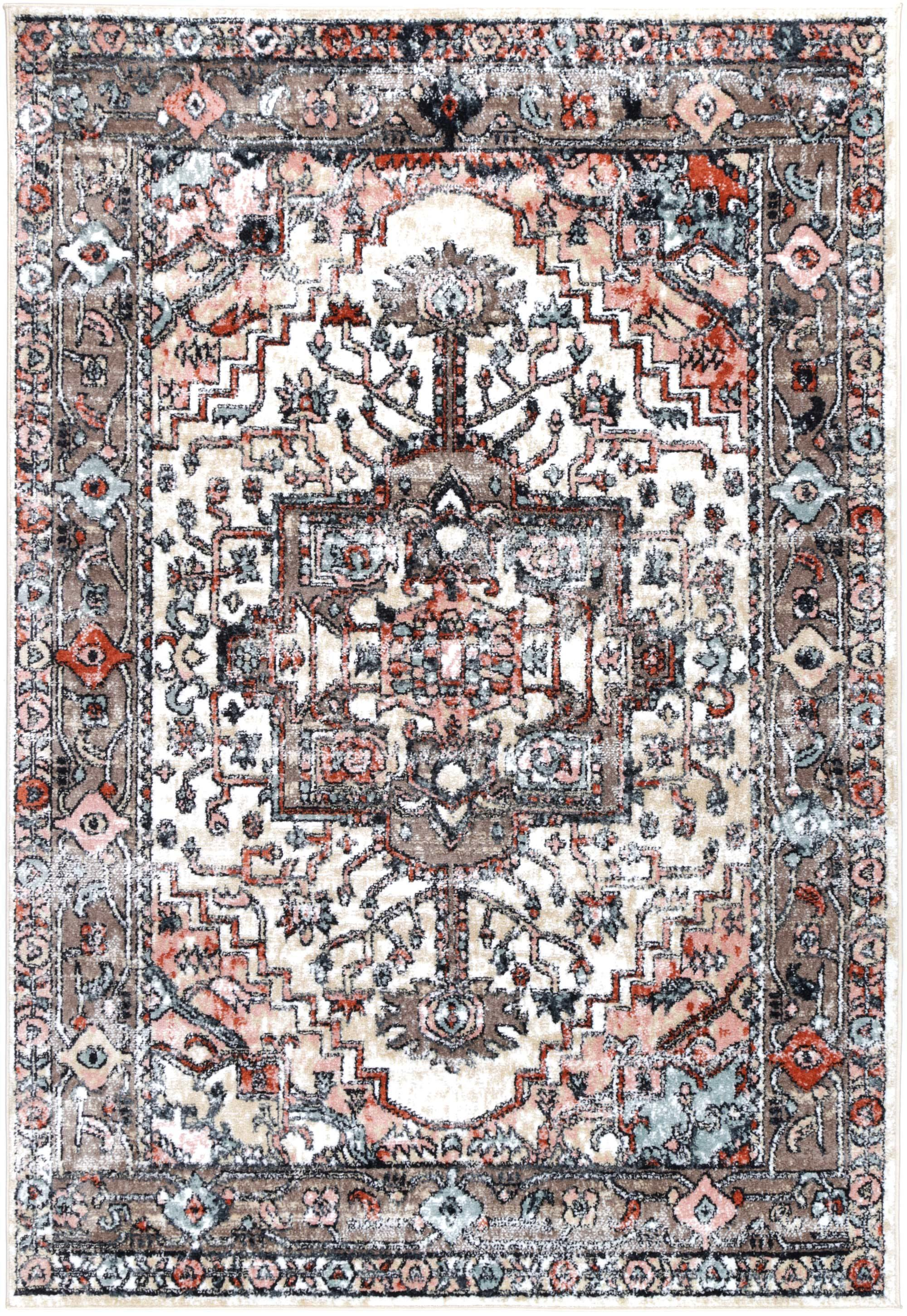 Abbot Traditional Beige Rug - The Rugs