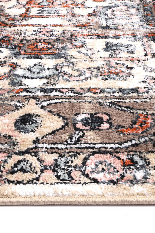Abbot Traditional Beige Rug