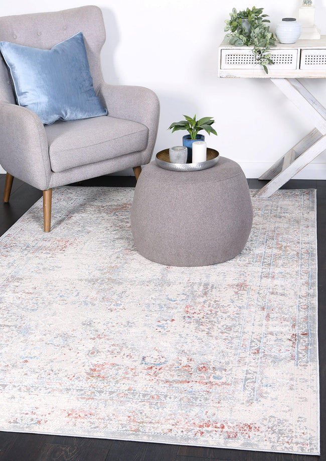 Anastasia Multi Grey Contemporary Rug