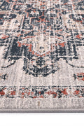Radiance Ankara Oriental Light Grey Rug