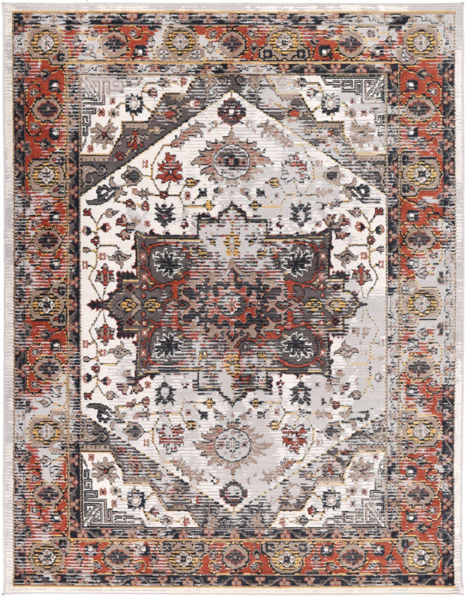 Radiance Antalya Oriental Rust Rug - The Rugs