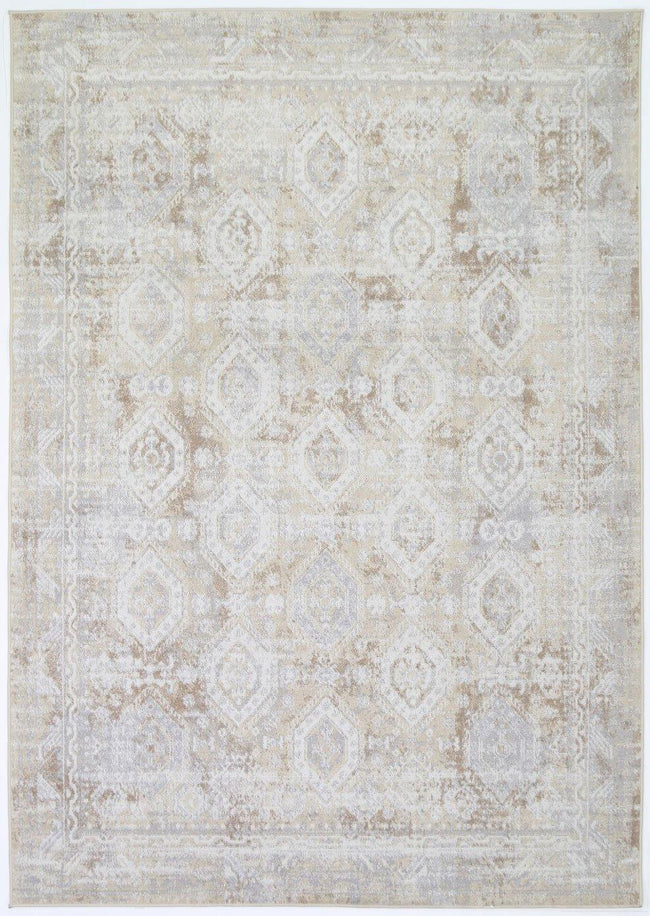 Cabana Herat Indoor/Outdoor Beige Rug