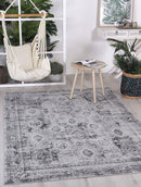 Cabana Herat Indoor/Outdoor Grey Rug