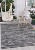 Cabana Hue Indoor/Outdoor Charcoal Rug
