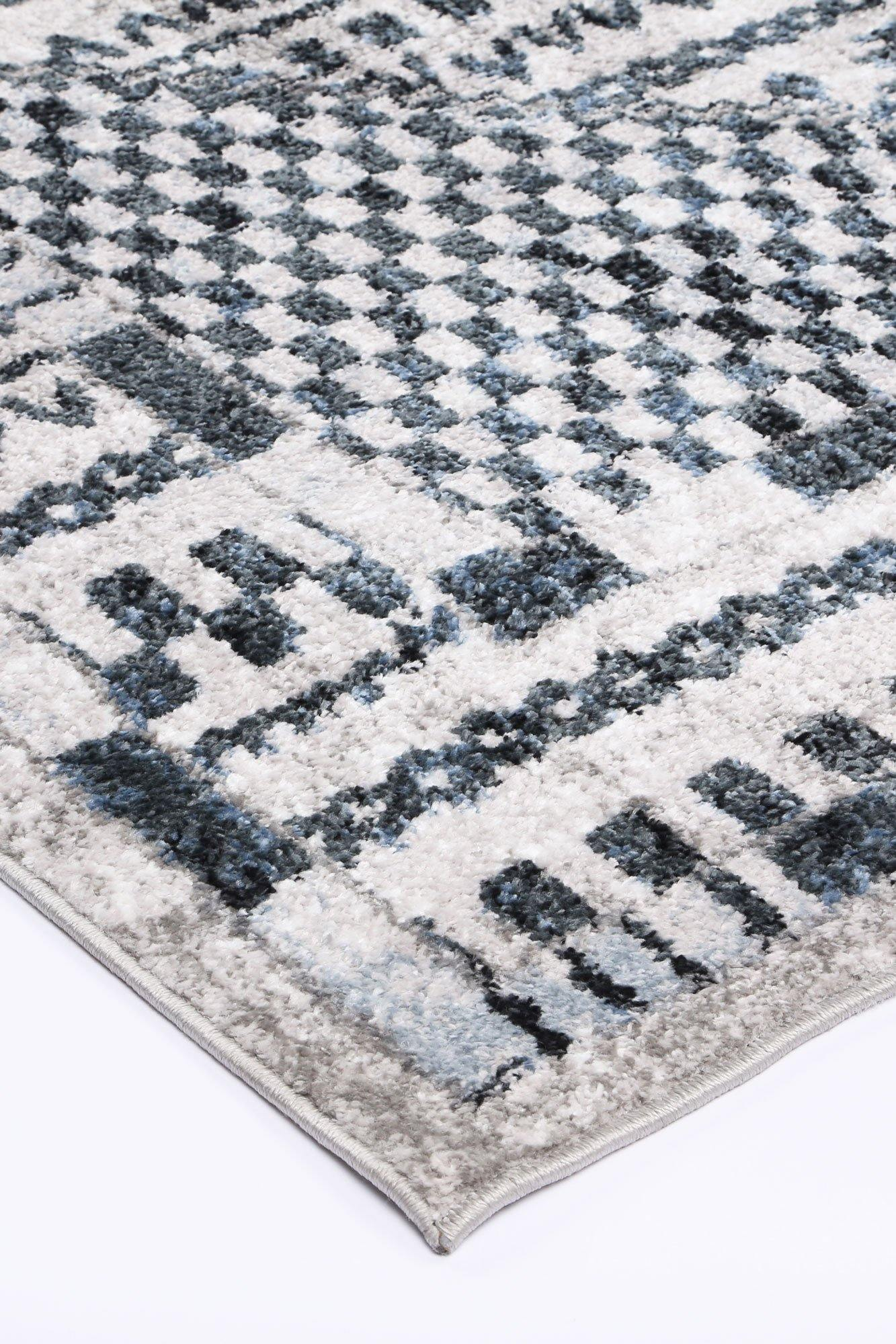 Layla Tribal Blue Rug - The Rugs