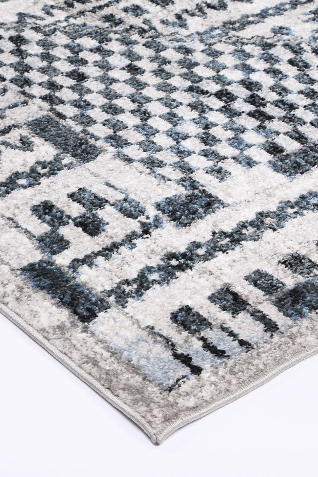 Layla Tribal Blue Rug