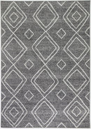 Cabana Marrakesh Indoor/Outdoor Charcoal Rug