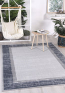 Cabana New York Indoor/Outdoor Blue Rug
