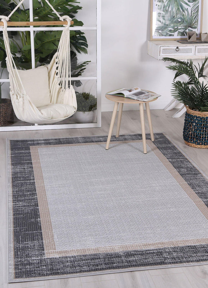 Cabana New York Indoor/Outdoor Grey Rug