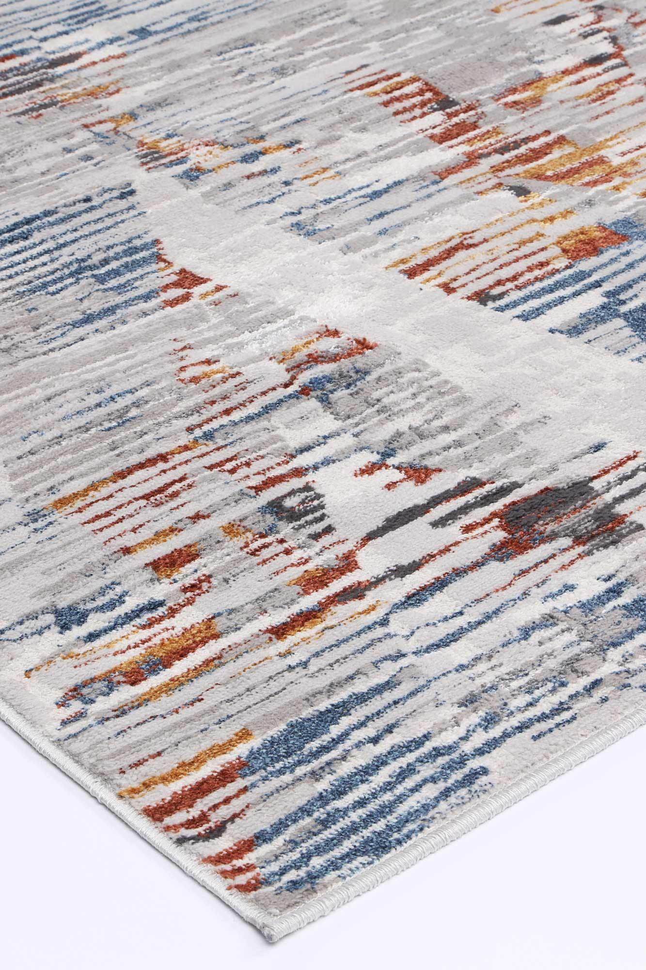 Drift Multi Grey Abstract Rug - The Rugs