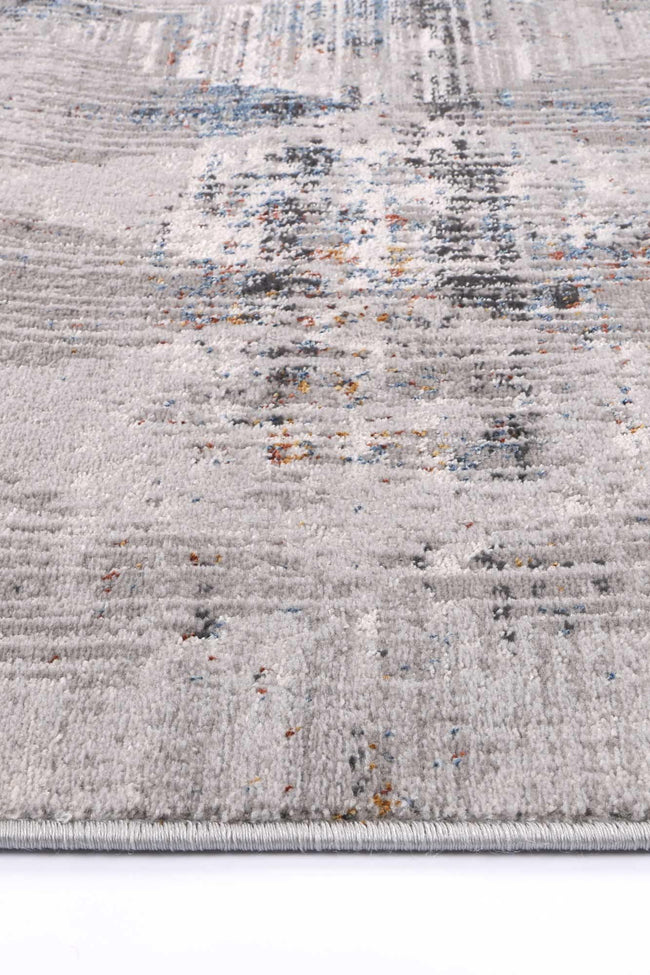 Drift Grey Multi Diamond Transitional Rug