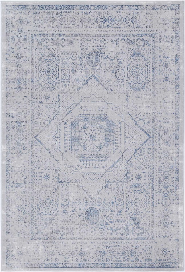 Drift Navy Traditional Rug