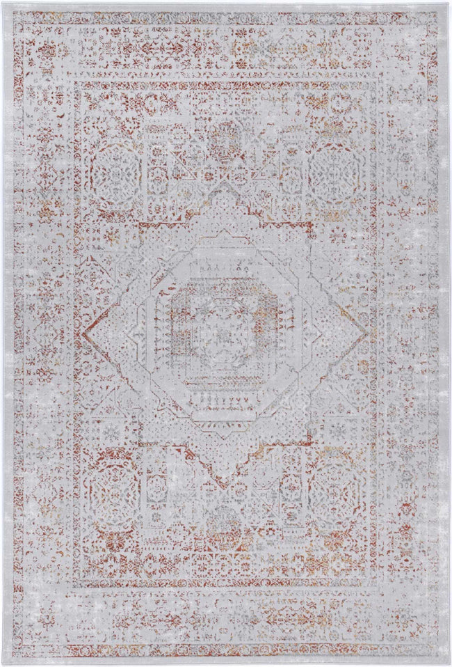 Drift Rust Traditional Rug