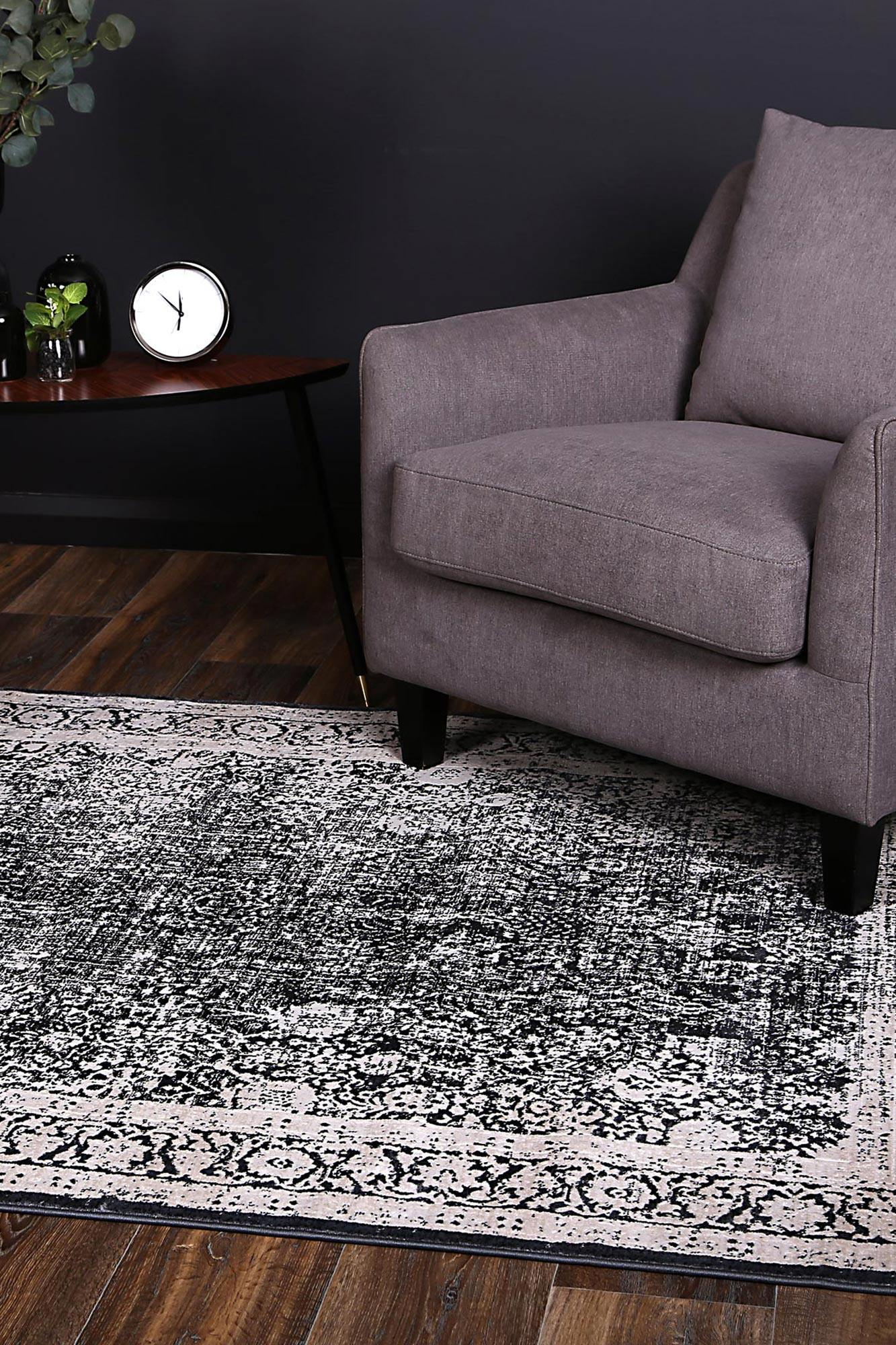 Dante Homa Navy Rug - The Rugs