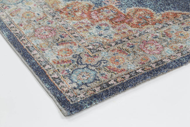 Clara Brentwood Transitional Navy Rug