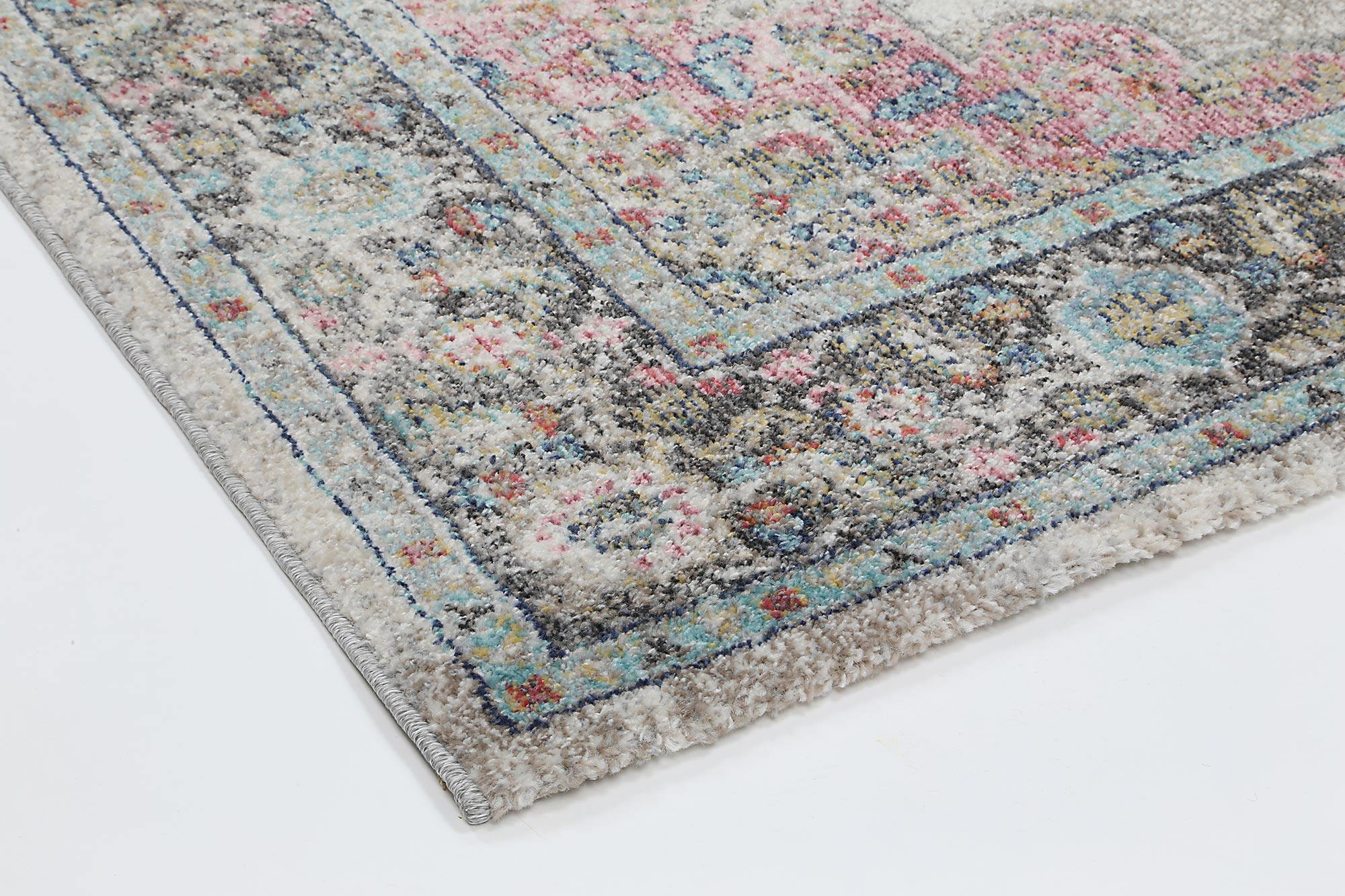 Clara Brentwood Transitional Cream Rug - The Rugs