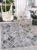 Cabana Trellis Indoor/Outdoor Grey Rug