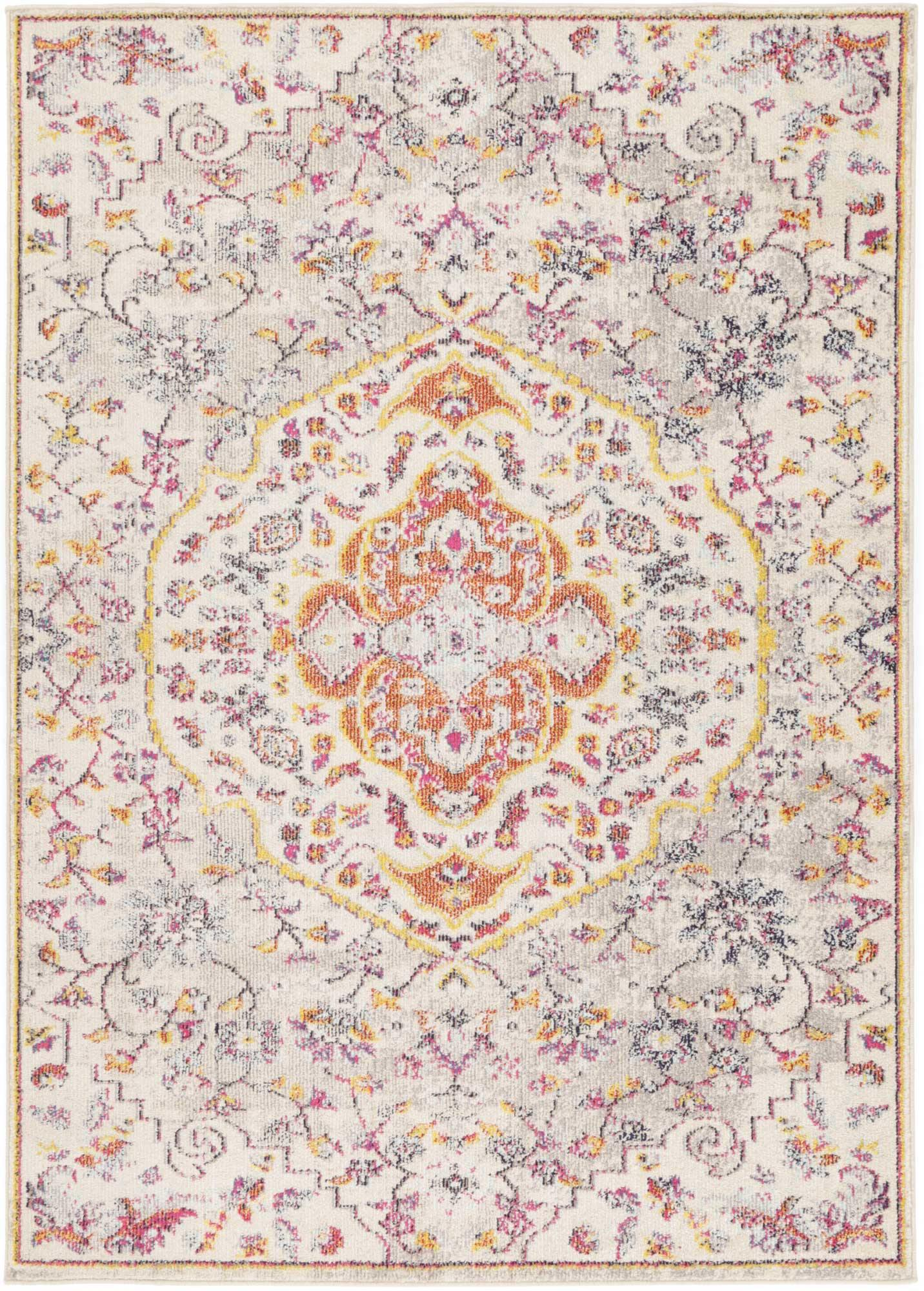 Ziva Sunset Traditional Rug - The Rugs