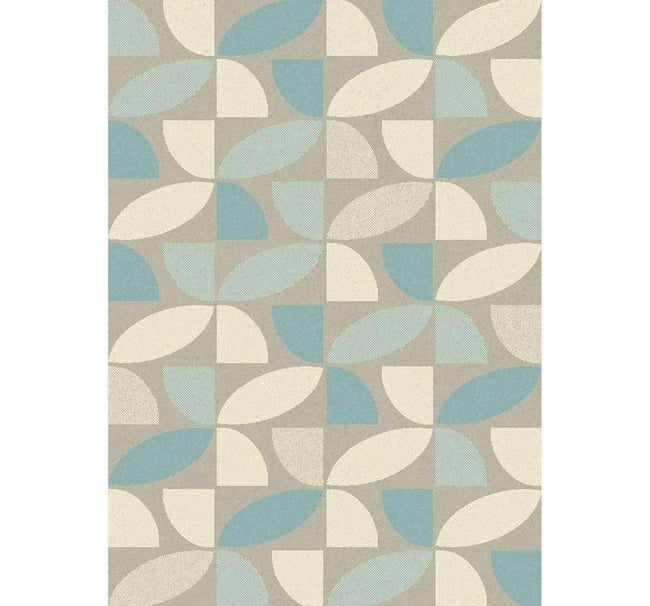 Accent Modern 15141 Blue Rug, [cheapest rugs online], [au rugs], [rugs australia]