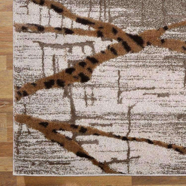 Allure Modern Collection 9697 Beige Rug, [cheapest rugs online], [au rugs], [rugs australia]