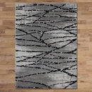Allure Modern Collection 9697 Grey Rug, [cheapest rugs online], [au rugs], [rugs australia]