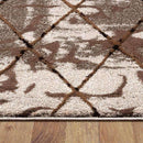 Allure Modern Collection 9698 Beige Rug, [cheapest rugs online], [au rugs], [rugs australia]