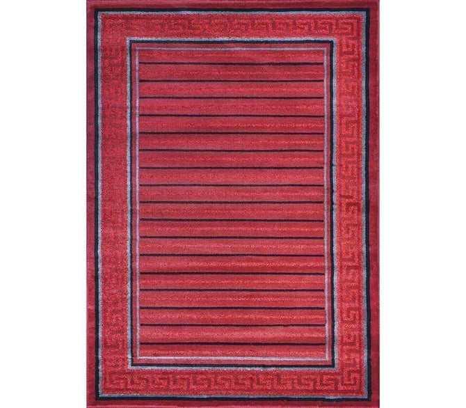 Alpha Modern Collection 4928A Red Rug, [cheapest rugs online], [au rugs], [rugs australia]