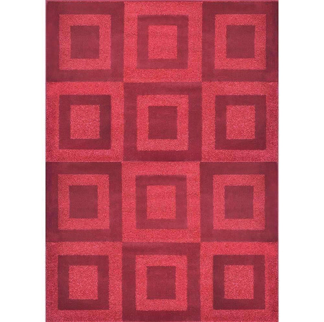 Alpha Modern Collection 4929A Red Rug, [cheapest rugs online], [au rugs], [rugs australia]