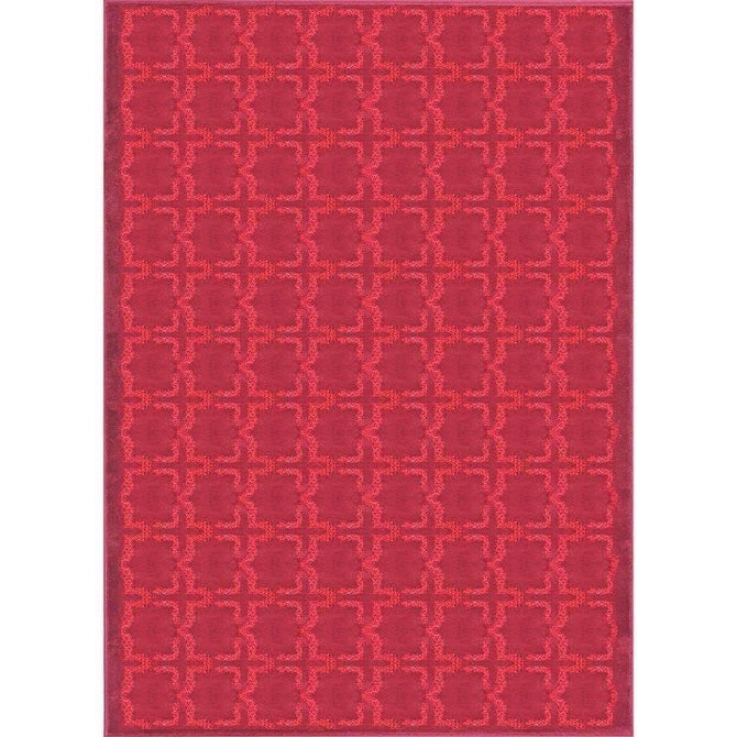 Alpha Modern Collection 4934A Red Rug, [cheapest rugs online], [au rugs], [rugs australia]
